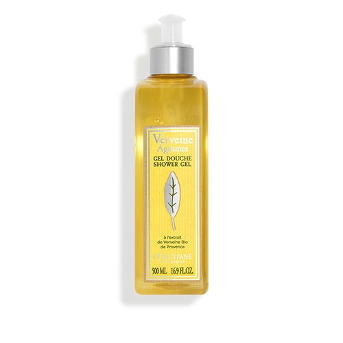Verbena citrus shower gel