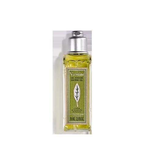 Verbena shower gel, travel size