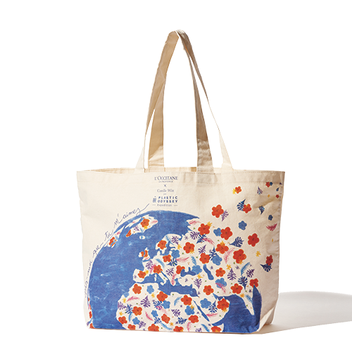 L'Occitane X Plastic Odyssey Tote Bag