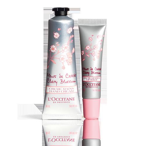 Duo Cherry Blossom Handen & Lippen