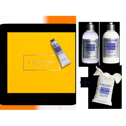 Giftset Lichaamsverzorging Relax Lavender