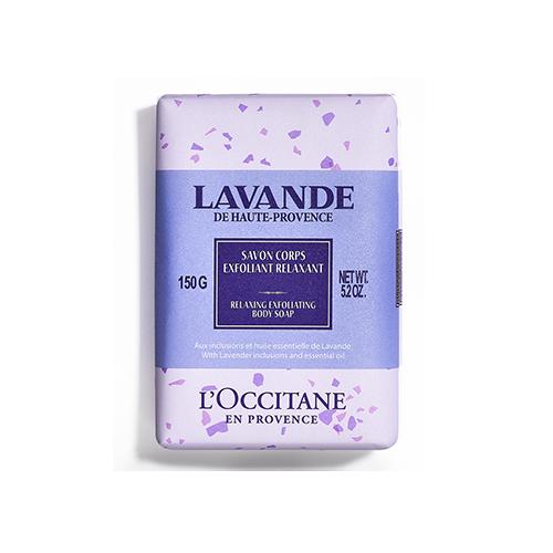 Lavender Exfoliërende en Ontspannende Lichaamszeep 150g