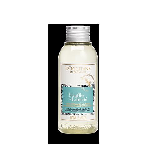 Verkwikkende parfumvloeistof Souffle de Liberté 100 ml