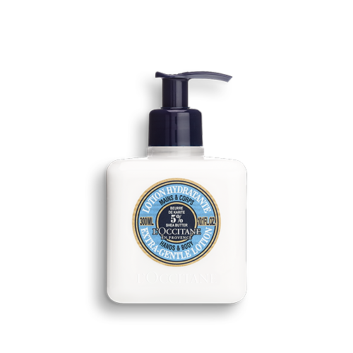 Shea hydraterende hand- en bodylotion 300ml