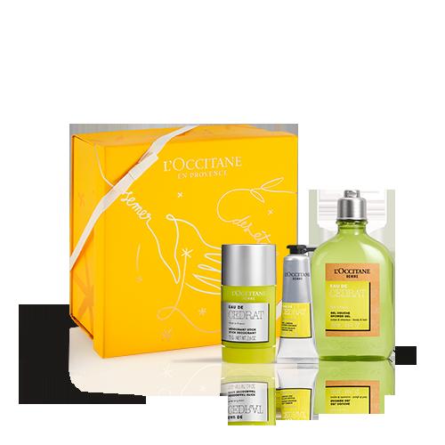 Cedrat Giftset Lichaamsverzorging Citrus & Houtachtig