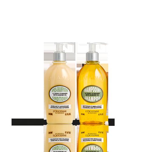 Duo Almond Shampoo en Conditioner