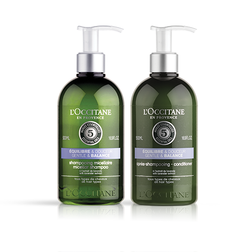 Duo Aromachologie Gentle & Balanced Shampoo en Conditioner
