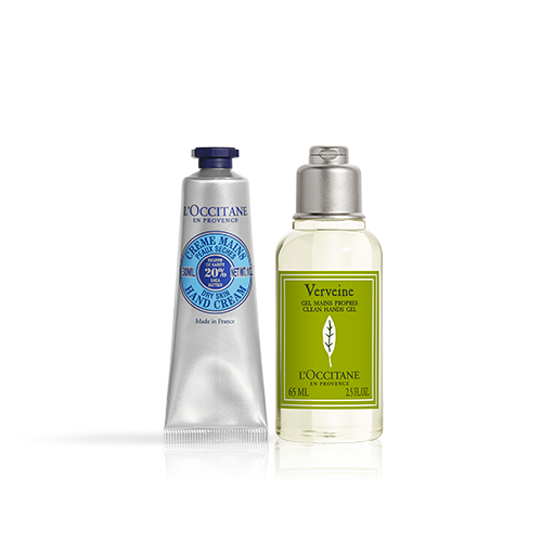 Duo Clean Handgel en Shea Handcrème