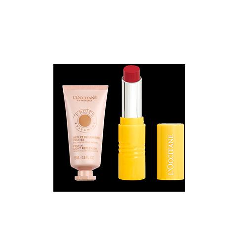 Giftset Duo Intense Lipstick en Highlighter