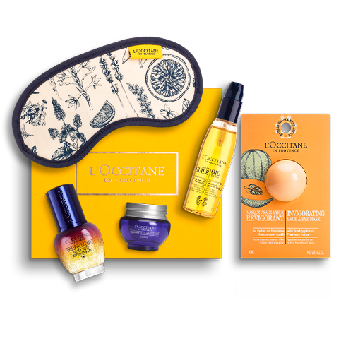 Giftset Immortelle Reset Nacht Serum Look