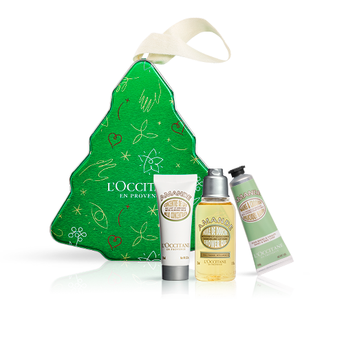 Giftset Kerstboom Almond