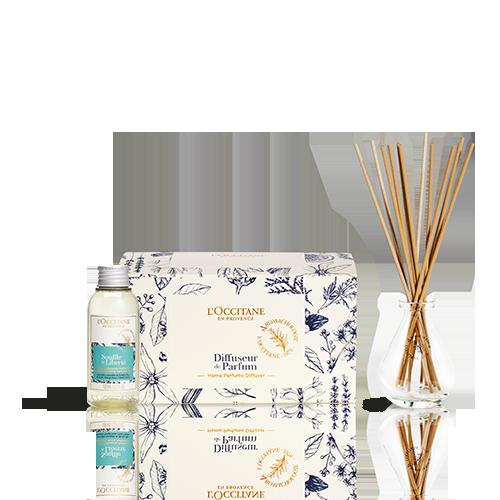 Giftset Souffle de Liberté Levendige Parfum Diffuser