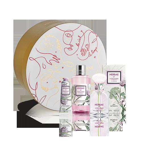 Herbae par L'OCCITANE L'Eau Giftset Parfum