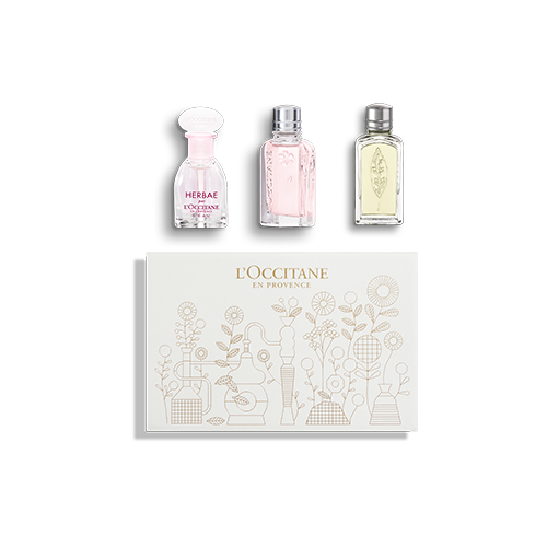 Ontdekkingsgiftset Trio Parfums
