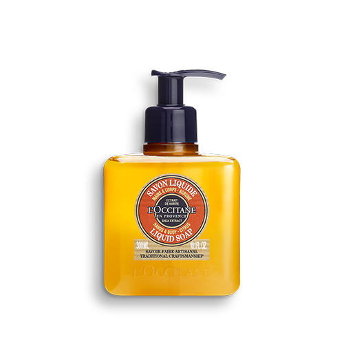 Shea Citrus vloeibare hand- en lichaamszeep 300ml