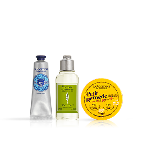Trio Clean Handgel en Shea Hydraterende Producten