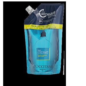 L'occitane Sabonete Líquido Corpo E Cabelo Cap Cedrat Eco-Refil