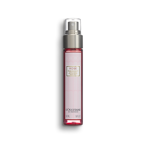Spray Refrescante Rosto Corpo e Cabelo Rosas