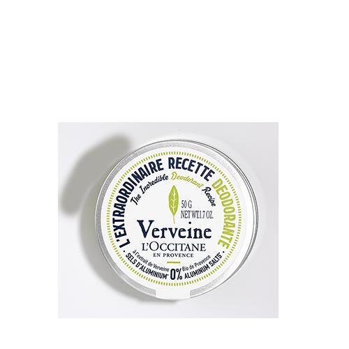 Desodorante em creme Verbena toque seco