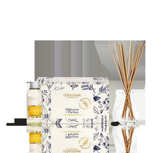 Coffret Difusor de Perfume Energia Positiva Douceur Immortelle 100ml