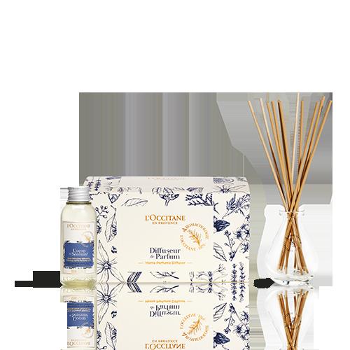Coffret Difusor de Perfume Relaxante Cocon de Sérénité 100ml