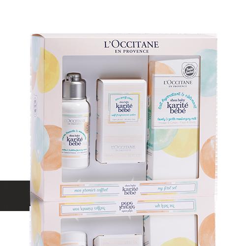 Coffret Presente Perfume e Corpo Karité Bebé
