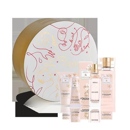 Coffret Presente Perfume de Mulher Néroli Orquídea