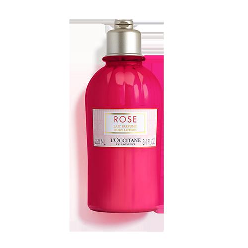 Leite de Corpo Perfumado Rosa
