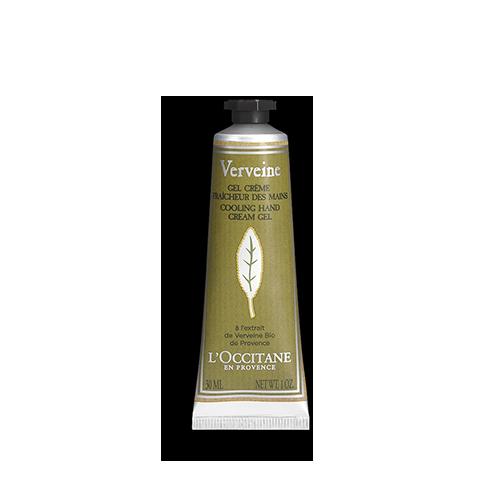 Gel crema racoritor pentru maini cu extract de Verbina - Special pentru calatorii