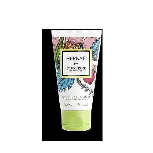 Gel de dus Herbae - Special pentru calatorii