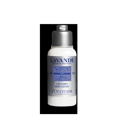 Lotiune de corp cu extract de Lavanda - Speciala pentru calatorii