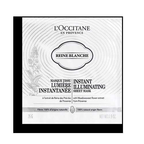 Masca pentru fata iluminatoare Reine Blanche - Instant Sheet
