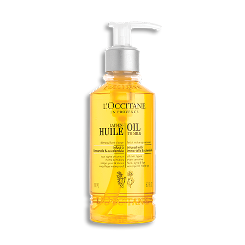 OIL-TO-MILK MAKE-UP REMOVER