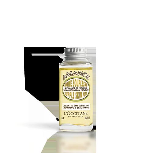 Spevňujúci telový olej Mandľa