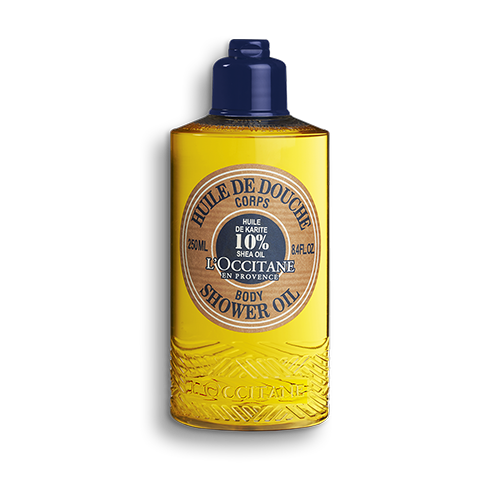 Sprchovací olej Bambucké maslo