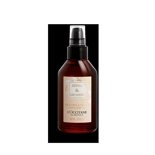 Vlasový & telový olej Neroli & Orchidea