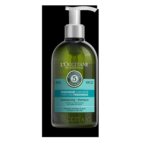 Očiščevalni šampon za svežino