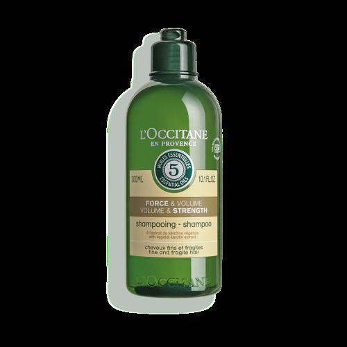 Aromakologija šampon za volumen i jačanje kose