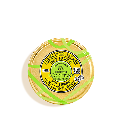 Šea buter Bergamot ultralagana krema za telo - limitirano izdanje