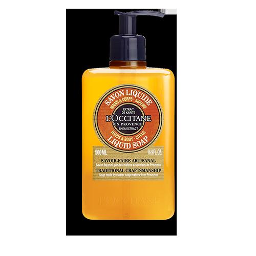 Shea Citrus Hands & Body Liquid Soap