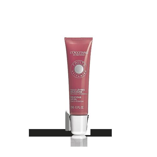 Восхитительное масло-блеск для губ ФРУКТОВЫЙ НЕКТАР оттенок Pink Mécanic (розовый)