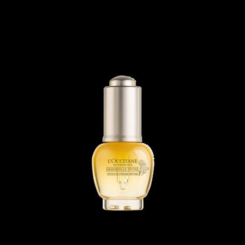 Омолоджуюча олія для обличчя БОЖЕСТВЕННИЙ БЕЗСМЕРТНИК (Immortelle Divine) 100% природна альтернатива ретинолу