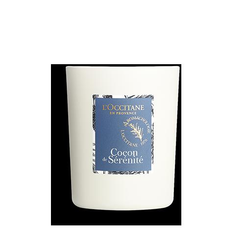 Парфумована свіча АУРА БЕЗТУРБОТНОСТІ (Cocon de Sérénité)