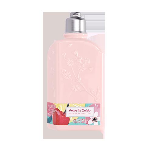 Парфумоване молочко для тіла СОКОВИТА ВИШНЯ (Fleurs De Cerisier Infusion Fruitée) лімітована колекція