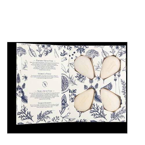 Премиум подарочный набор парфюмированного мыла ИСКУССТВО ЖИЗНИ (L'art de vivre)