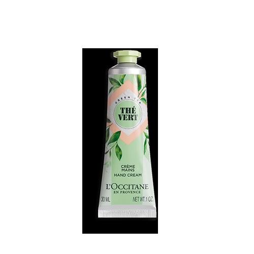 綠茶潤手霜