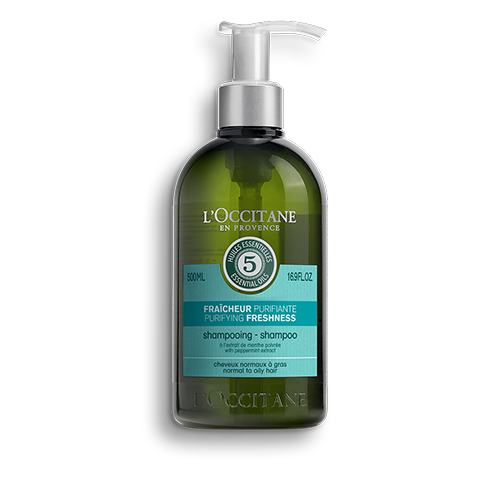 草本淨涼洗髮乳
