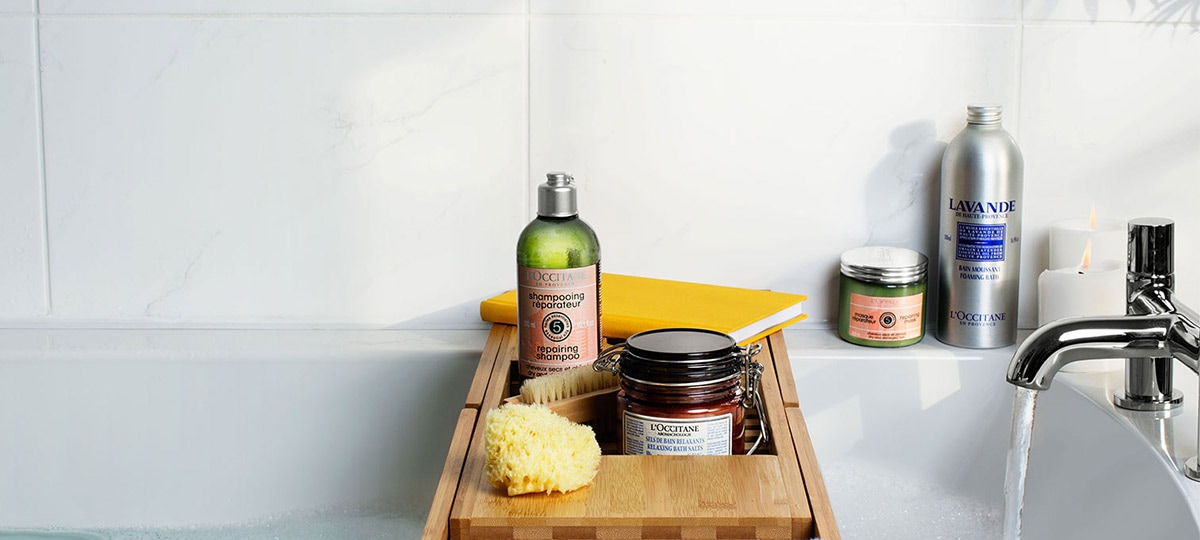 Tips for a relaxing spa day at home - l'Occitane