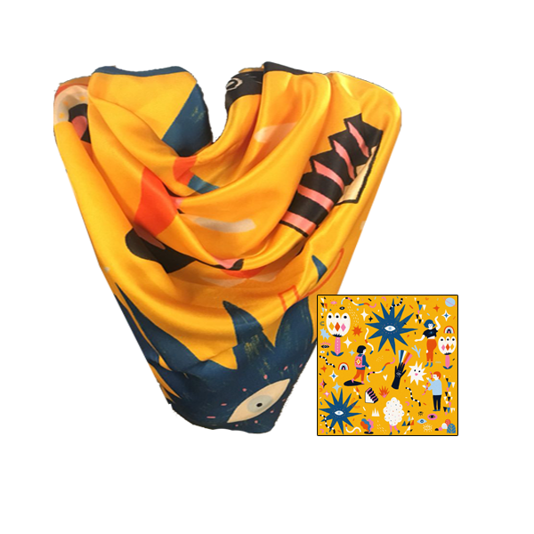 Union for Vision - Playful Scarf