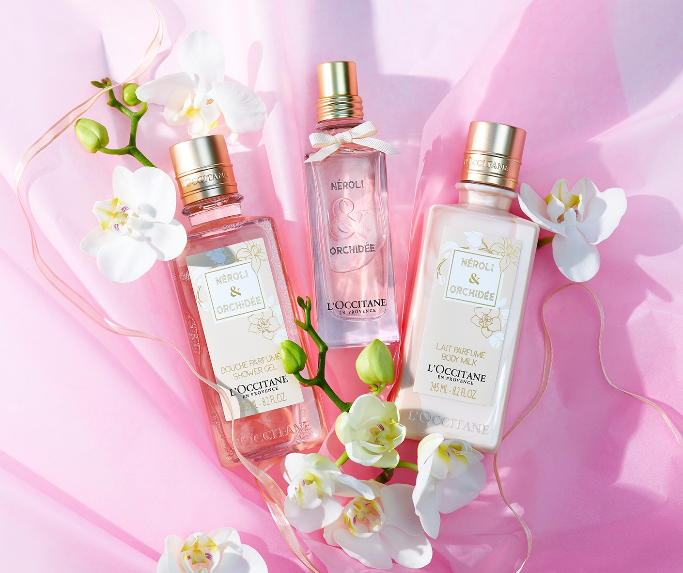 Neroli and Orchidee Fragrances